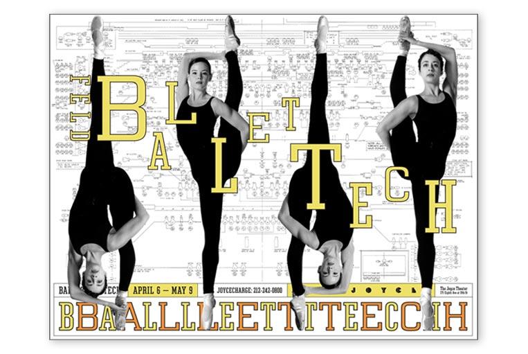 Ballet Tech Poster