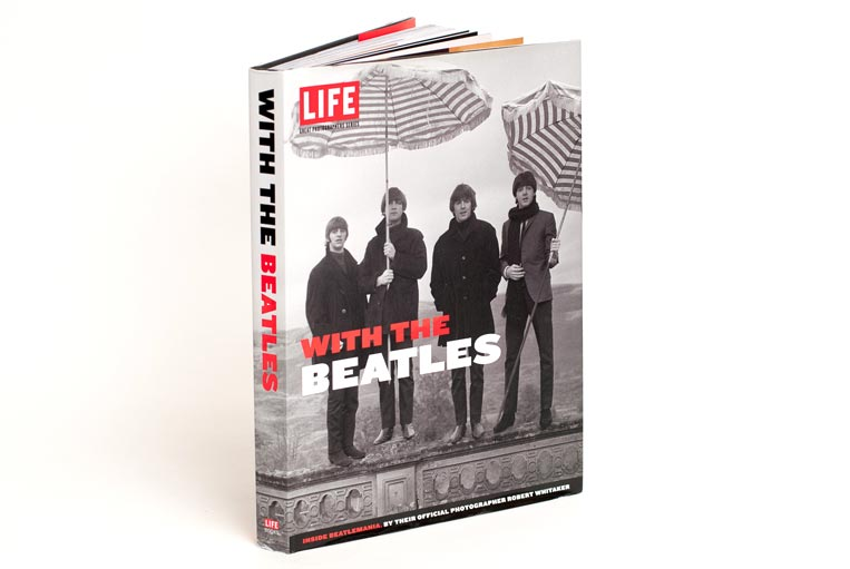 LIFE Books With the Beatles cover