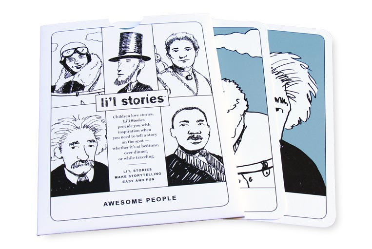 Li'l Stories: Awesome People set